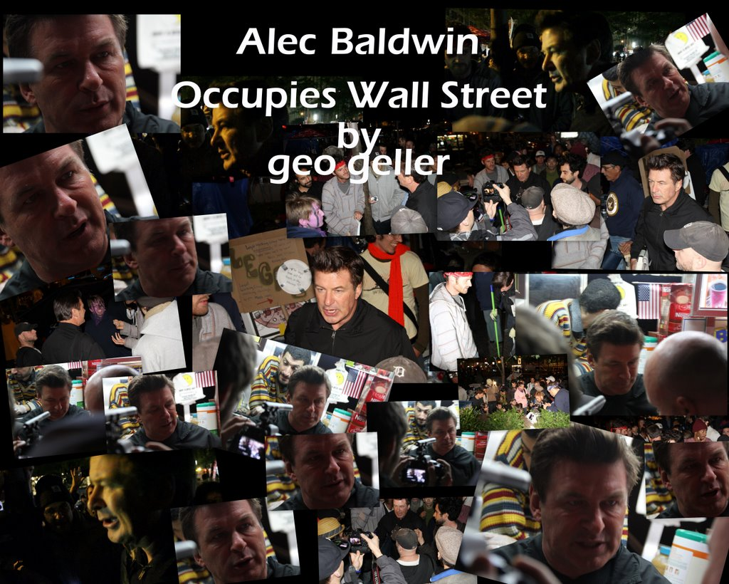 Alec Baldwin - American Musical Chairs at Occupy Wall Street
